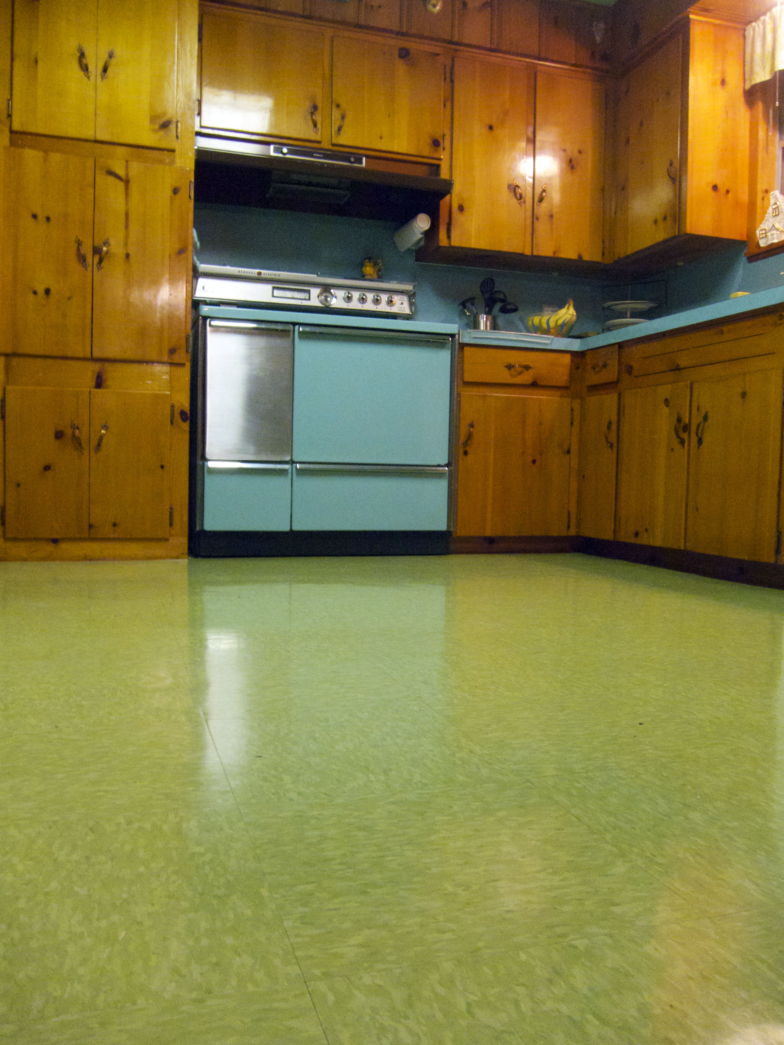 Vct Kitchen Floor February 2012 Betty Crafter