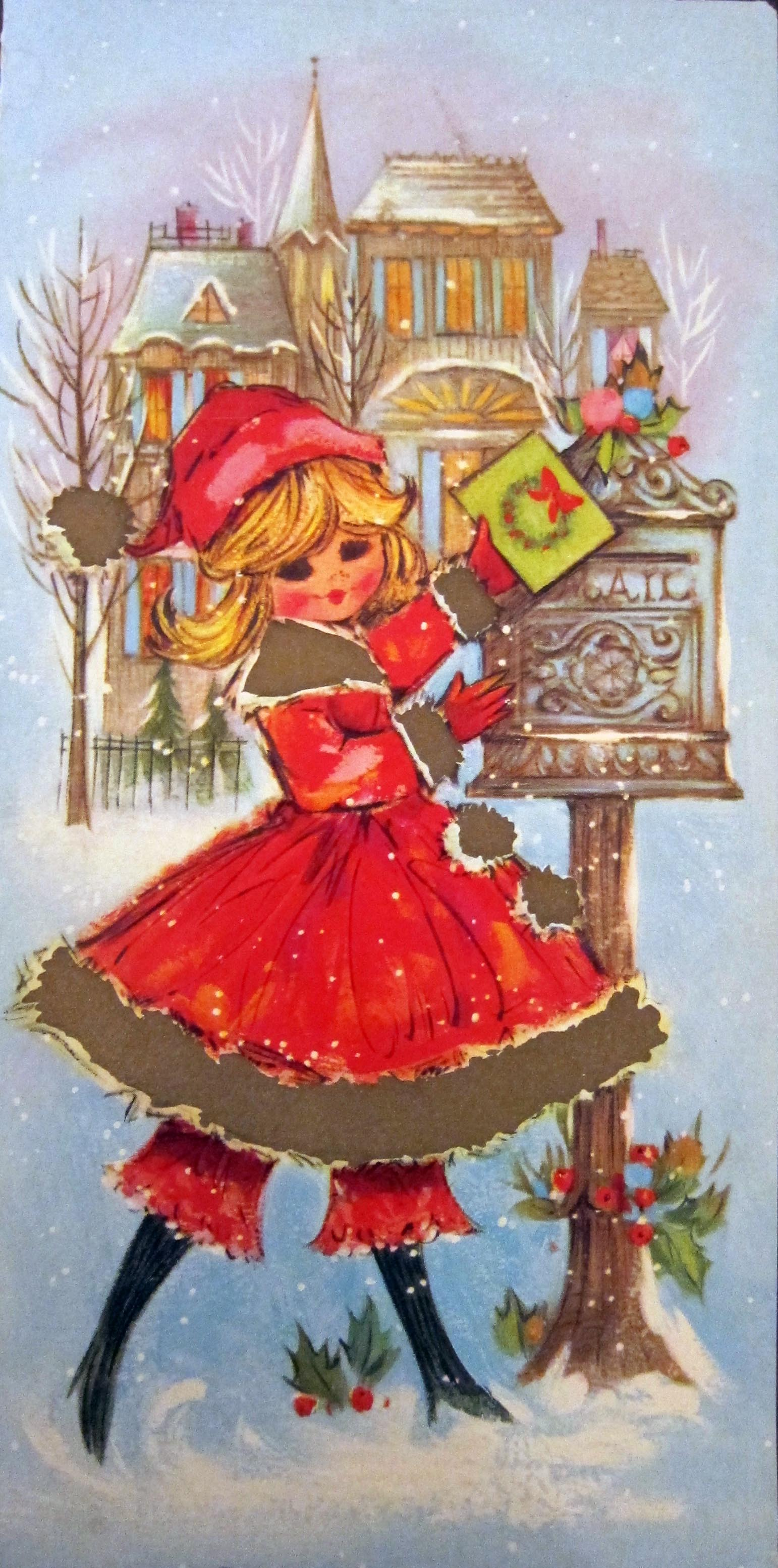 Vintage Christmas Cards! | Betty Crafter