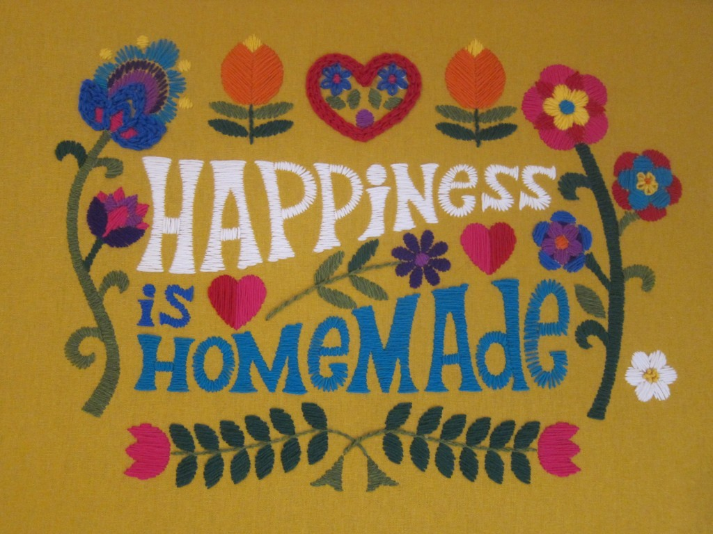 happiness is homemade finished